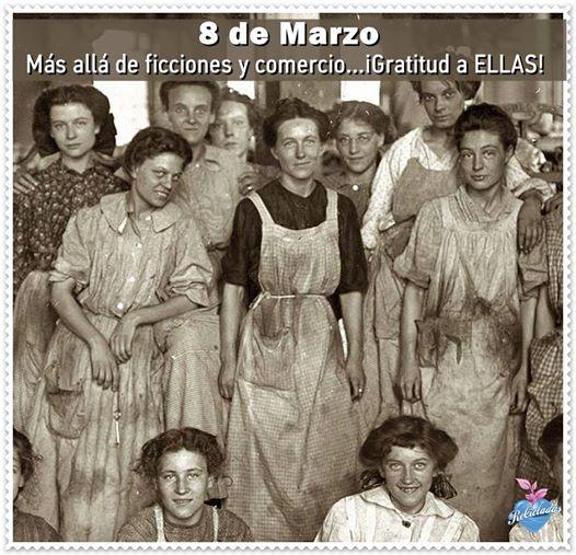 8 marzo dia de la mujer con conciencia