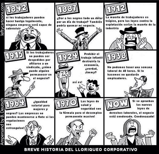 21 PROTESTAS PATRONALES