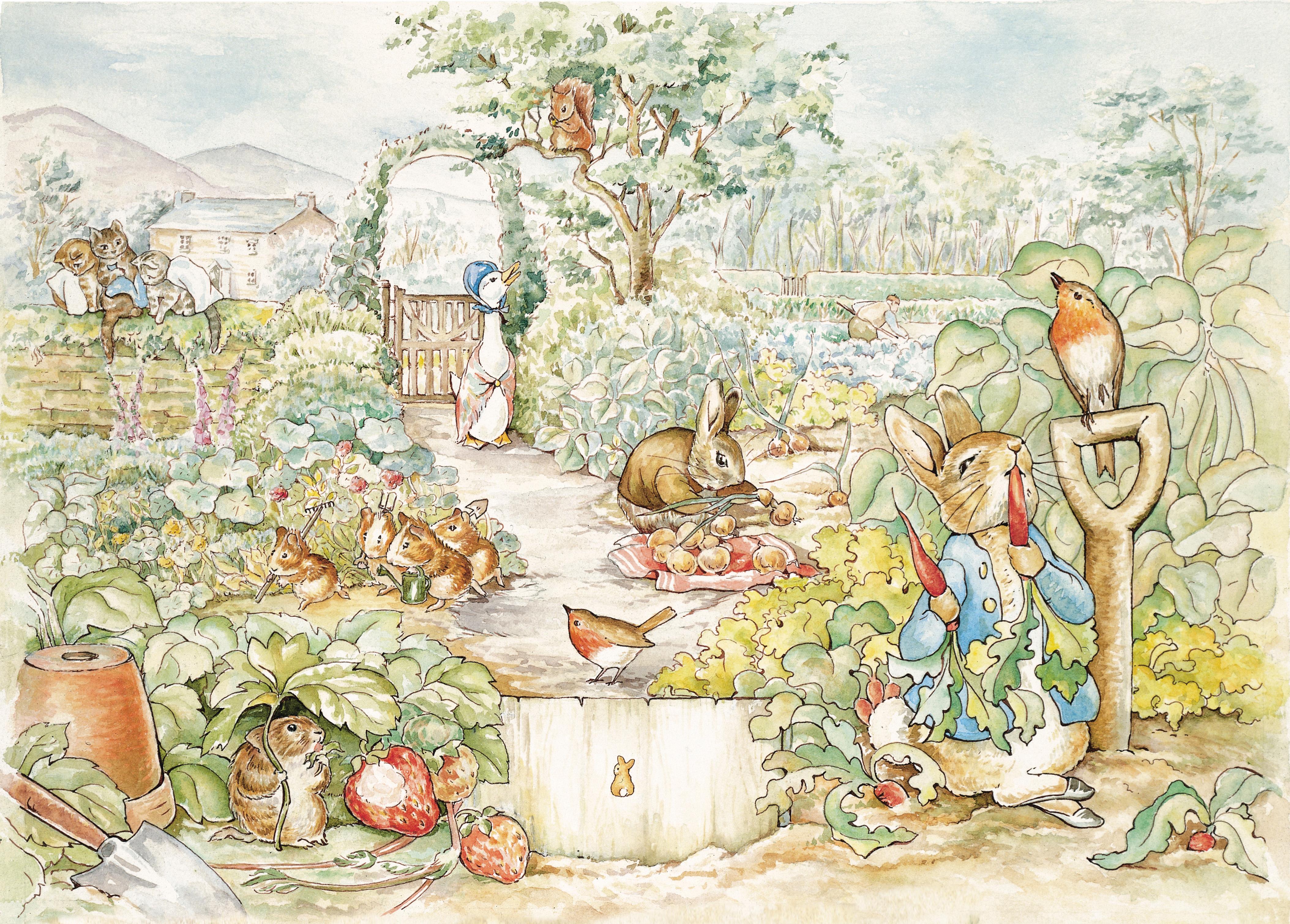 Peter Rabbit Wall Mural Comics Y Animados Los Muertevideanos P 225 Gina 7