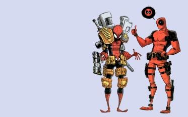spiderman deadpool wade wilson marvel comics