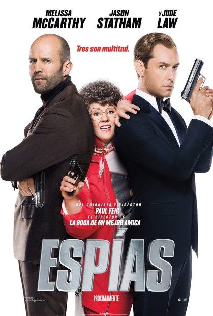 espias poster 2015