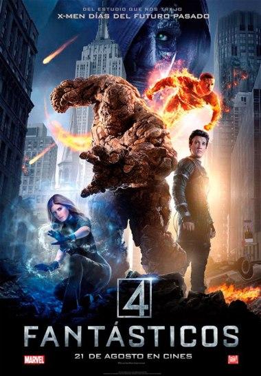 los 4 fantasticos poster 1