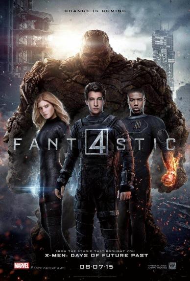 los 4 fantasticos poster