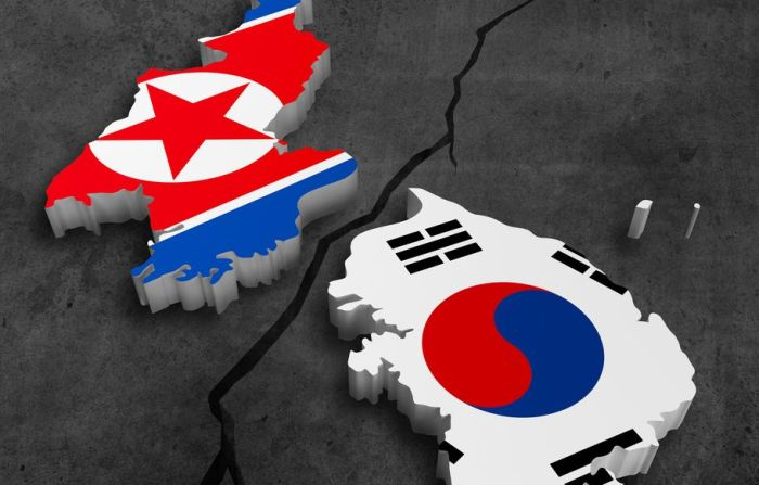 1496 - Corea del Sur y del Norte