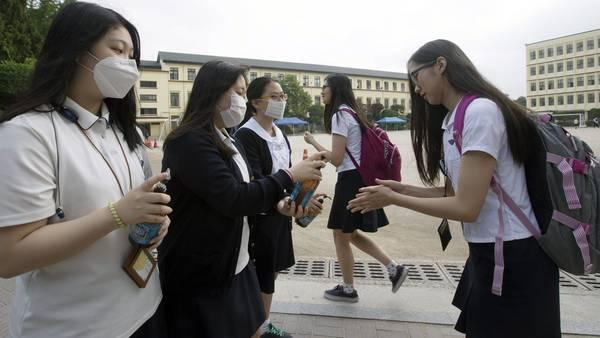 Estudiantes-Seul-Corea-Sur