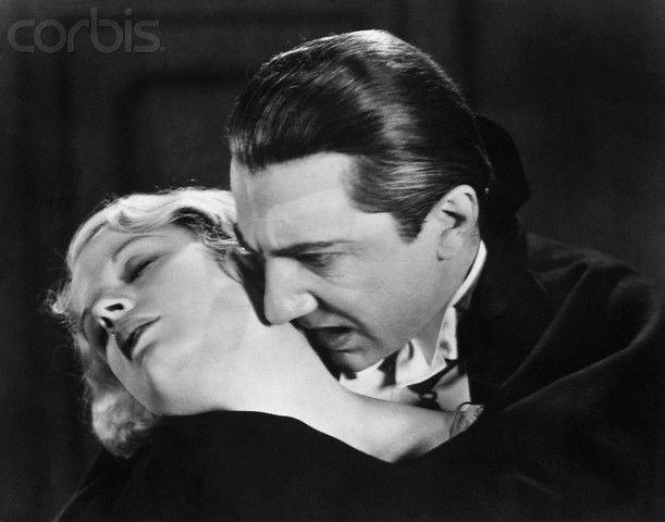 Bela Lugosi and Helen Chandler in Dracula