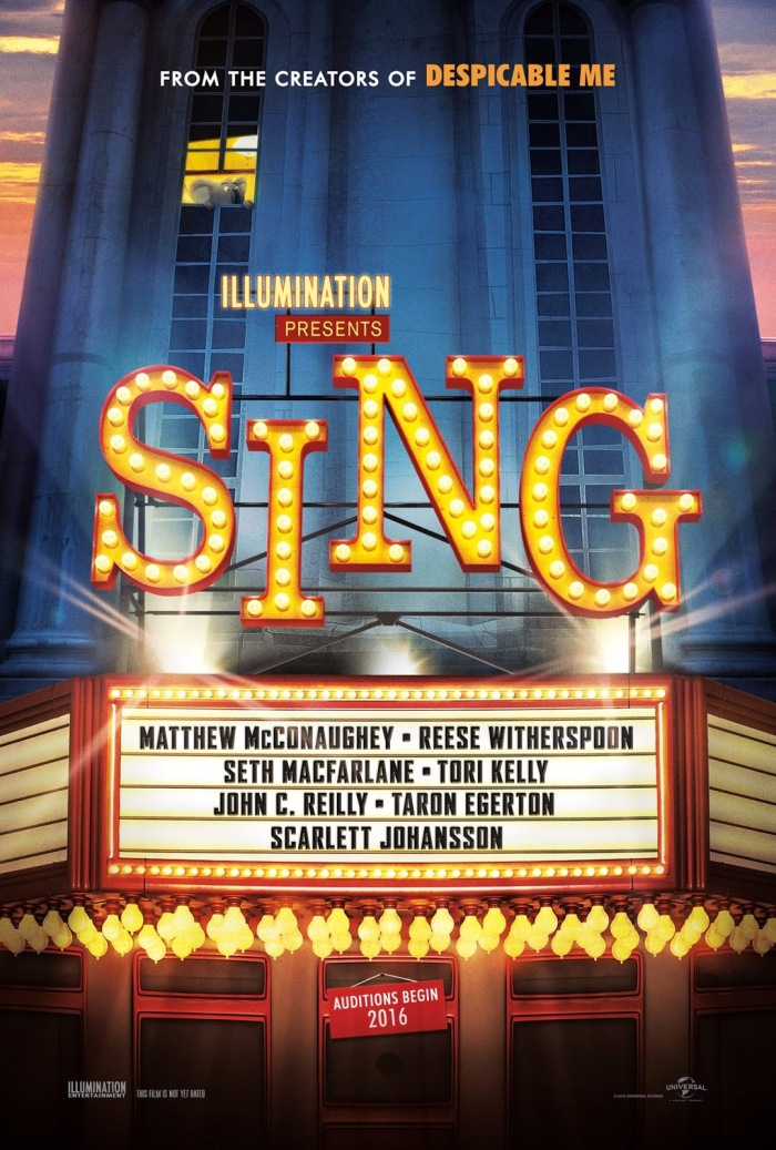 poster pelicula sing