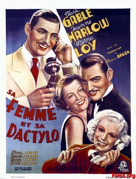 1936-ENTRE-ESPOSA-Y-SECRETARIA-Clarence-Brown-belga