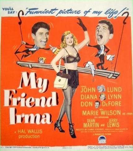1949 - My friend Irma (G. Marshall) USA
