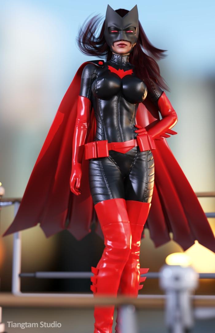 batwoman_by_tiangtam