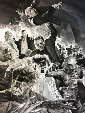 monsters universal por Alex Ross 1