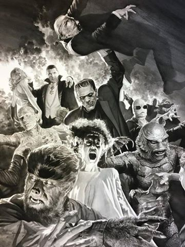 monsters universal por Alex Ross 1