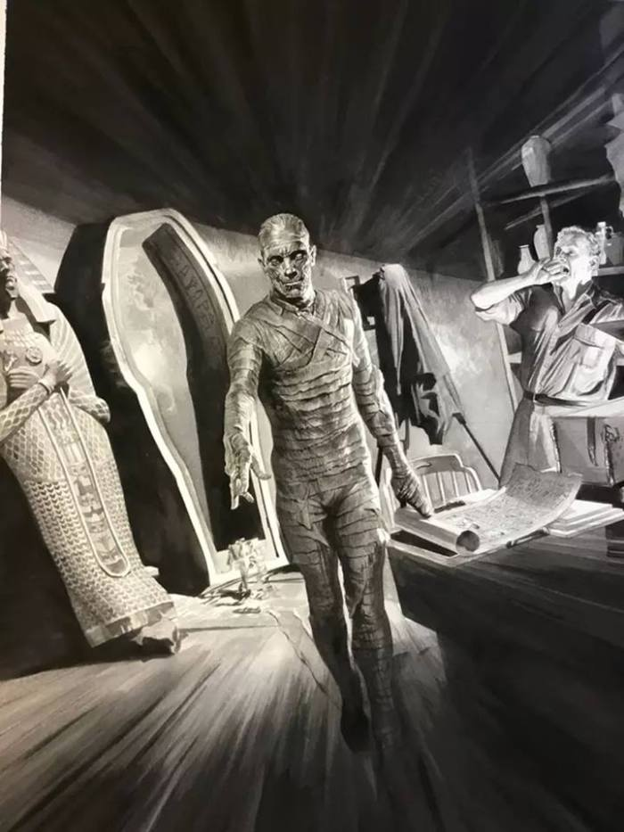 monsters universal por Alex Ross 5