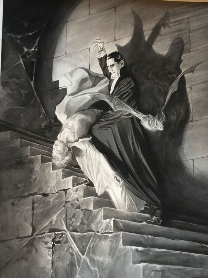 monsters universal por Alex Ross 6