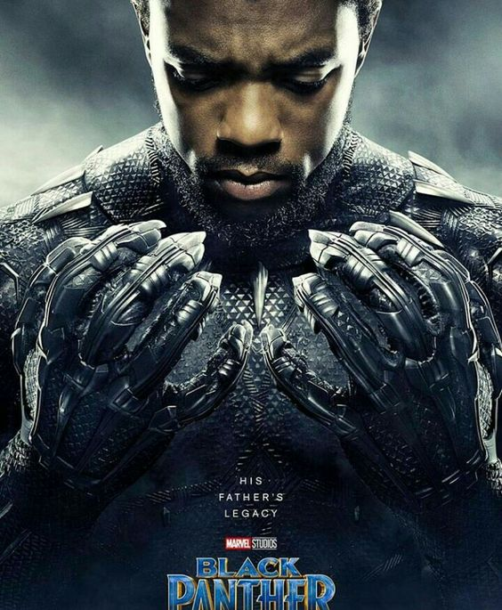 black panther afiche