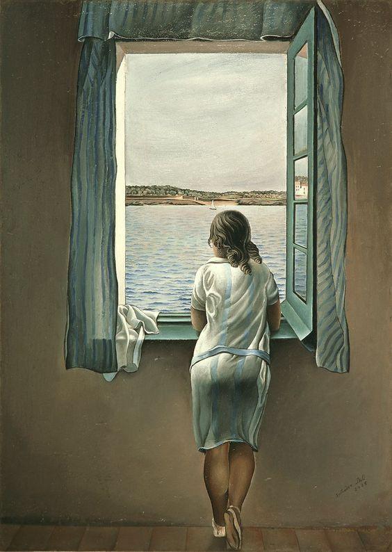Salvador Dalí, Woman at the Window (Muchacha en la ventana), 1925