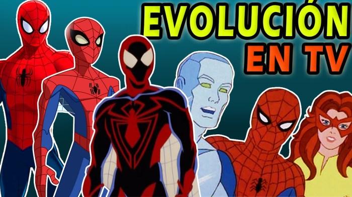 La evolución de Spider-Man en la televisión